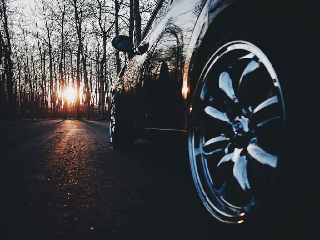 Image of car wheel