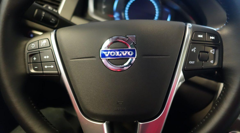 Image of Volvo steering wheel